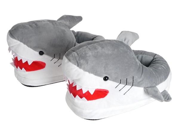 Kuschelige Haifisch Damen Hausschuhe