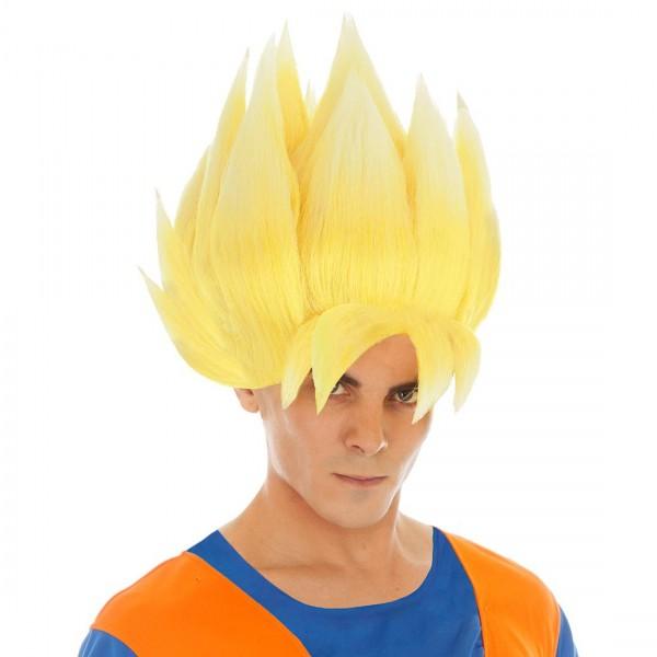 Blond Goku Perücke für Saiyajin Cosplay