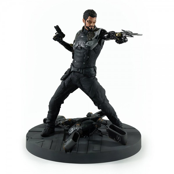 Adam Jensen Figur mit Nanoklinde aus Deus Ex