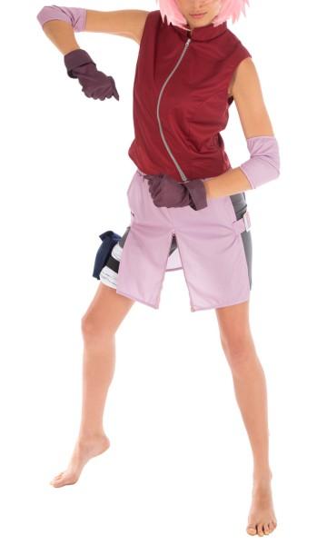 Naruto Shippuden Cosplay Kostüm von Sakura Haruno | Größen: XS - L