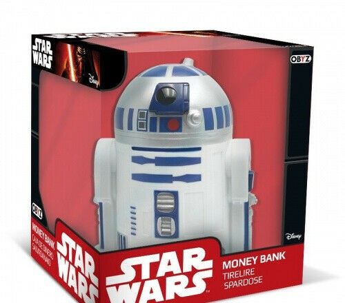 Star Wars R2 D2 Droide lizenzierte Spardose Deko Figur