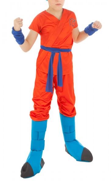Dragon Ball Z Kinder Kostüm von Son Goku Blue