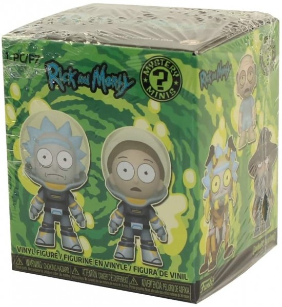 Rick and Morty Funko Mystery Minis Box mit Figur