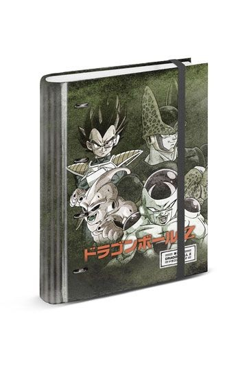 Dragon Ball Z Merch Ordner Evil mit Vegeta