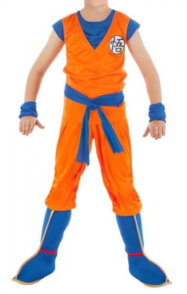 Son Goku Kinderkostüm mit Überschuhen