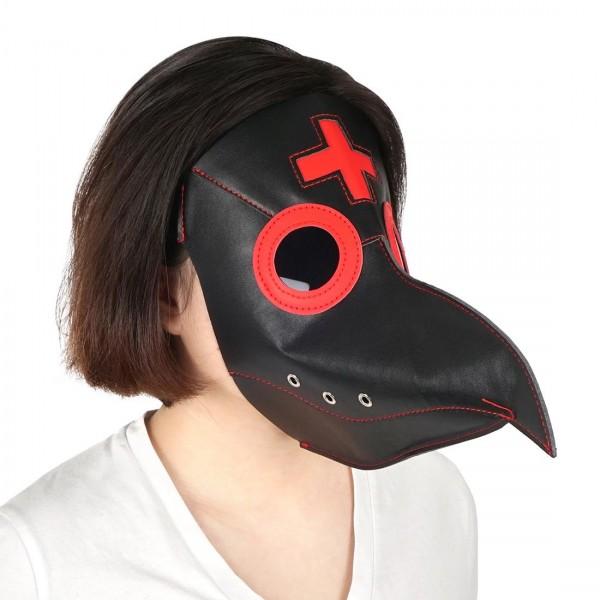Steampunk Pestmaske für Dr Schnabel Kostüm