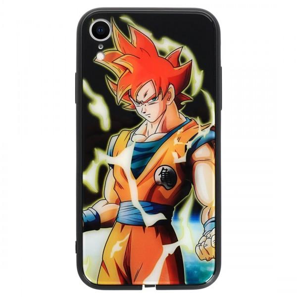 Dragonball Goku Licht Handyhülle iPhone XR