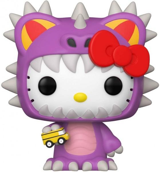 Hello Kitty Funko POP Figur im Land Kaiju Design
